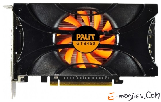 Palit GeForce GTS 450 1Gb DDR5 Green NE5S4500HD01-1061F