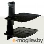 Kromax STEEL-DUO черный макс.16кг настенный фикс. 2 полки для A/V систем (металл)
