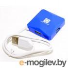 5bites HB24-202BL 4 x USB2.0  Синий