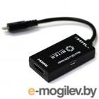 micro USB (BM) -> HDMI (F) + micro USB (BF),   5bites (UA-HHFM-MHL)