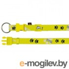Trixie Modern Art Collar Woof 15188 (ХXS-ХS, Yellow)