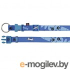 Trixie Modern Art Collar Woof 15220 S-M/Blue