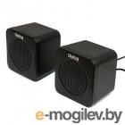 Dialog Colibri AC-01UP BLACK - 2.0, 1W RMS, черные, питание от USB