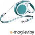 Поводок-рулетка Flexi 12015 Vario (S, Turquoise)