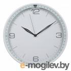 часы настенные Бюрократ  WallC-R06P/white аналоговые