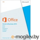 MS Office Home and Business 2013 32/64 Russian Russia Only EM DVD No Skype (T5D-01763)
