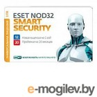 �� ESET NOD32 Smart Security �� 1 ��� �� 3�� ��� ���� �� 20���, CARD
