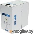 <NEW>   BL-UTP02-5-500,ССA PVC   BaseLevel  UTP  cat.5  2pair (0.50мм) ССА PVC 500м