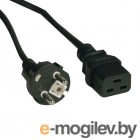 Кабель Tripplite (P050-008) AC Power Cord, SCHUKO/C19, 250V, 10A - 8 ft.