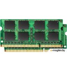 KVR13S9K2/16 16GB 1333MHz DDR3 Non-ECC CL9  SODIMM  (Kit of  2)