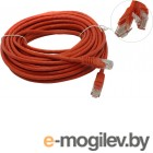 Patch Cord UTP кат.5e 10м Red