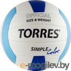 TORRES Simple Color V30115 (White-Light Blue-Blue)