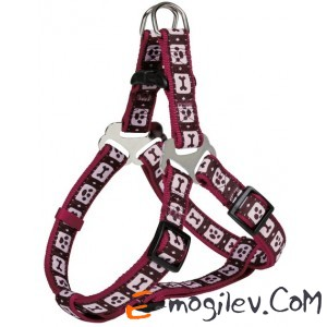 Trixie 16989 Modern Art Harness (M, Bordeaux)