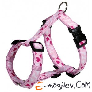 Шлея Trixie 16008 Modern Art H-Harness (M-L, Pink)