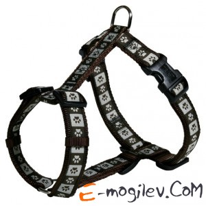 Trixie 15986 Modern Art H-Harness (XS-S, Brown)