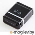 Qumo Sticker <QM64GUD-NANO-B> USB2.0 64Gb