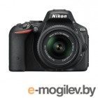 Nikon D5500 Black 24Mpix 18-55VRII 3 1080p Full HD SDXC Li-ion