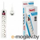 Сетевой фильтр Buro 500SH-10-W 10м (5 розеток) белый
