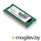 SO-DIMM DDR3 4Gb (pc-12800) 1600MHz Patriot (PSD34G160081S)