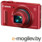 Canon PowerShot SX610 HS красный 20Mpix Zoom18x 3 1080p SDXC CMOS IS opt 5minF 30fr/s HDMI/WiFi/NB-6LH