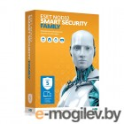 ESET NOD32 Smart Security Family Антивирус,  лицензия на 1 года, на 5ПК, BOX (NOD32-ESM-NS(BOX)-1-5)