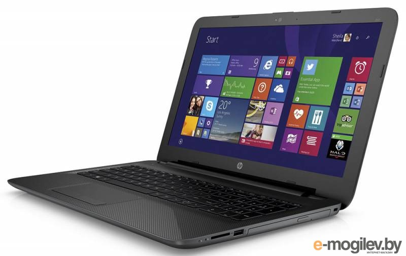 HP 250 Core i3 4005U/8Gb/1Tb/DVD-RW/Intel HD Graphics 4400/15.6/SVA/HD (1366x768)/Windows 8.1 Professional 64/black/WiFi/BT/Cam