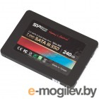 2.5  60Gb Silicon Power Slim S55 SP060GBSS3S55S25, SATA 6Gb/s, R556 - W465 Mb/s, 79000 IOPS, 7mm