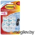 Крючок для ключей 3M Command 17006CLR (упак: 6шт)