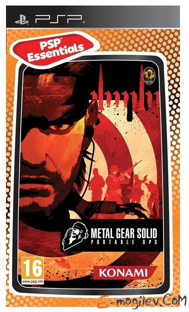 Sony PlayStation  Metal Gear Solid Portable Ops (Essentials) eng