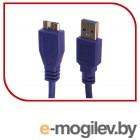 Кабель Gembird/Cablexpert CCP-mUSB3-AMBM-0.5M Кабель USB 3.0 Pro , AM/microBM 9P, 0.5м, экран, синий