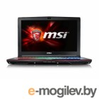 MSI GE62 6QF(Apache Pro)-008RU i7-6700HQ(2.6) Skylake/8G/1Tb/15.6 FHD Anti-Glare/NV GTX970M 3GB DDR5/DVD-SM/Backlight/6Cell/ Win10/Black