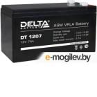Батарея Delta DT 1207 (7 Ач, 12В) свинцово- кислотный аккумулятор