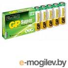 Батарея GP Super Alkaline 15A LR6 AA (10шт. уп)