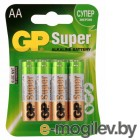 Батарея GP Super Alkaline 15A LR6 AA (8шт. уп)