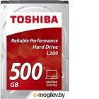 Toshiba 500Gb HDWJ105UZSVA L200 2.5