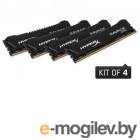 Kingston 16GB 2800MHz DDR4 DIMM (Kit of 4) XMP HyperX Savage Black HX428C14SBK4/16