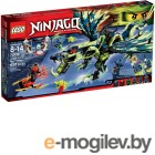 Lego Ninjago Атака Дракона Морро (элем.:658) пластик (от 8 до 14 лет) (70736)