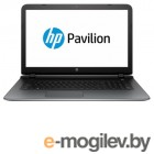 Ноутбук HP Pavilion 17-g152ur 17.3 1600x900, AMD A8-7410 2.2GHz, 4Gb, 500Gb, DVD-RW, AMD M360 2Gb, WiFi, BT, Cam, Win10, эксклюзив, серебристый