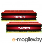 DDR4 Patriot VIPER4 16Gb KIT (8GbX2) 2800MHz PV416G280C6K
