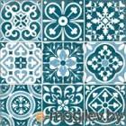 VitrA Декор Carmina Blue Tozetti K085755 450x450