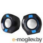 Oklick OK-203 2.0 черный/синий