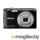 Фотоаппарат Nikon Coolpix A100 Black <20.1Mp, 5x zoom, SD, USB, 2.6>