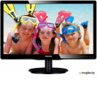 Монитор Philips 19.5 200V4LAB2 (00/01) черный TN+film LED 5ms 16:9 DVI M/M матовая 10000000:1 200cd 1600x900 D-Sub HD READY 2.72кг