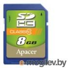 Apacer SDHC Card 8Gb AP8GSDHC10-R