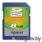 Apacer SDHC Card 8Gb AP8GSDHC4-R
