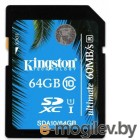Kingston SDA10/64GB UHS-I 60/35 SDHC 64Gb Class10