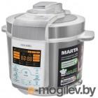 MARTA MT-4309 белый/сталь