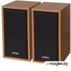 Perfeo колонки Cabinet 2.0, мощность 2х3 Вт (RMS), бук дерево, USB (PF-84-WD)