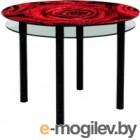 Artglass Ringo Tale Розы черный