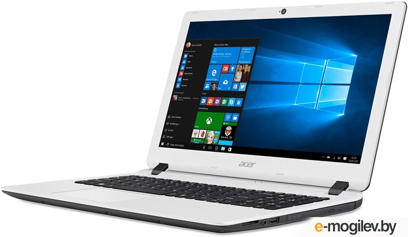 Acer Aspire ES1-523-49TC A4 7210/4Gb/500Gb/AMD Radeon R3/15.6/FHD (1920x1080)/Windows 10/black/white/WiFi/BT/Cam/3220mAh